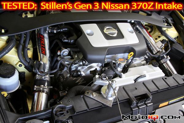 Stillen Gen 3 air intake for the Nissan 370Z