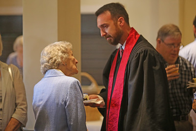 Reception for Rev. Scott Grantland