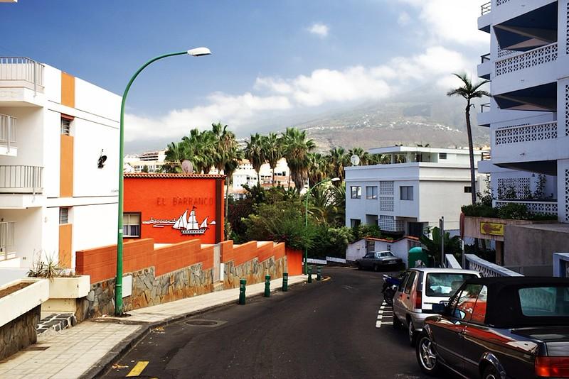 Calle Francia, vedoucí k hotelu