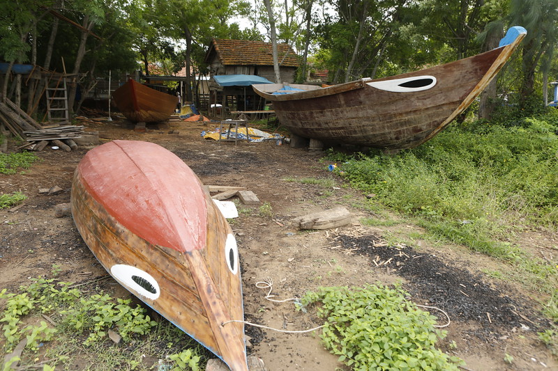 Eyes Painted on Vietnamese Boats