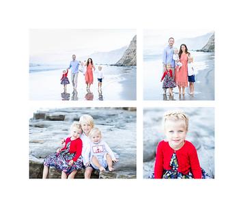 Holiday Card Photos in La Jolla - Scripps Pier Photographs - Fall 2019