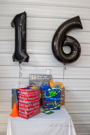 Tanner's 16 birthday