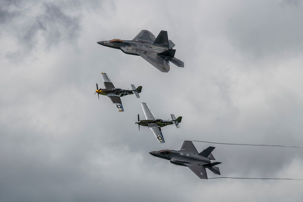 U.S Air Force Legacy Flight
