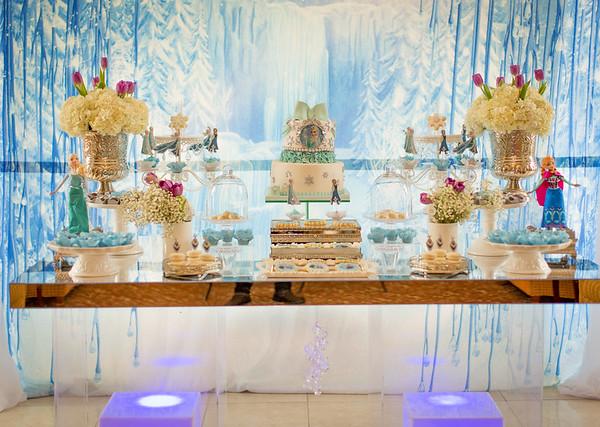 Summer's Frozen Birthday Party