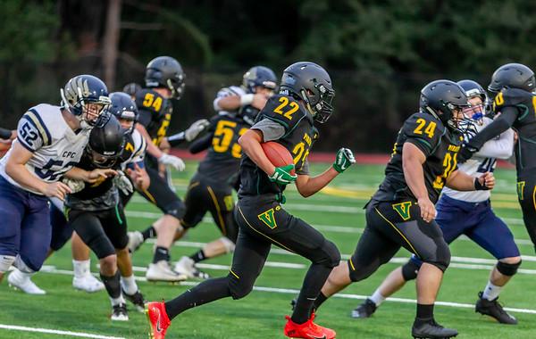Set two: Vashon Island High School Football v Cedar Park at Opening Night 2018 09/14/2018
