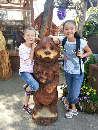 Knotts Berry Farm with Jaelyn Spring 2015