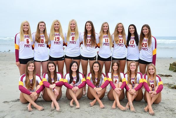 TP VB Varsity Team photos, 8-23-16