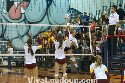 Volleyball: Varsity Broad Run at Stone Bridge by Jeff Scudder