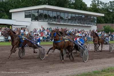 Sport Paardensport Draverij Stadspark laatste editie 08-2021