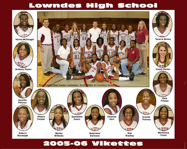 2005-06 Lowndes High Girls Basketball