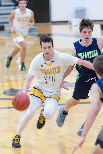 2018-02-20 WHS Basket Ball vs Timpview