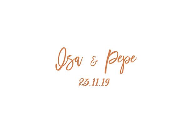 Isa & Pepe - 23 noviembre 2019