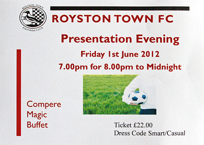 Presentation Evening 2012