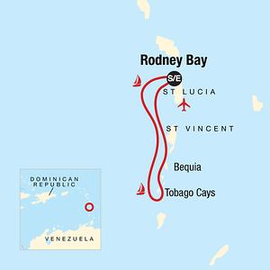 Sailing Tour map