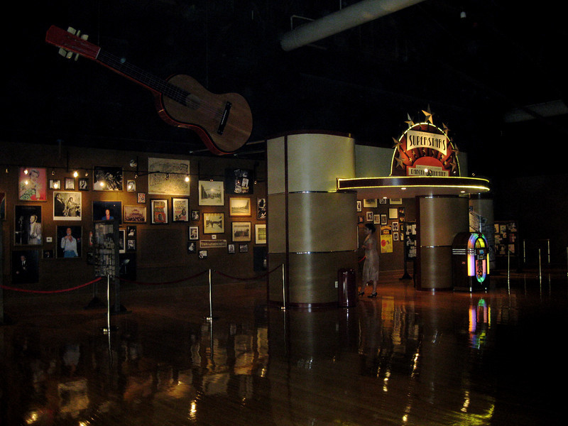The Celebration of Superstars museum exhibit.