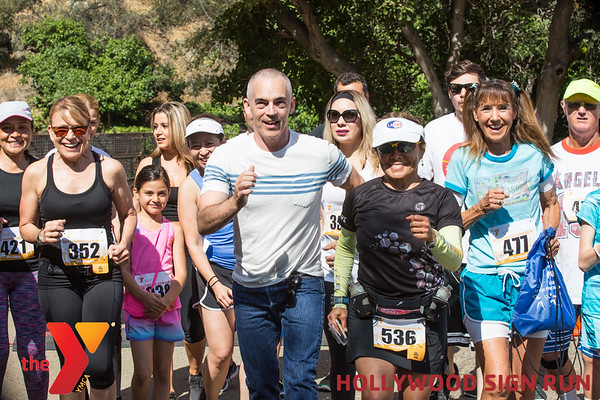 HOLLYWOOD SIGN RUN HIGHLIGHTS
