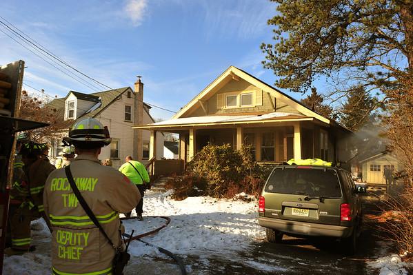 ROCKAWAY BORO, NJ WORKING FIRE 73 KELLER AVE. 1/3/13