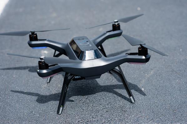 UAV drone flight at rec east 2015