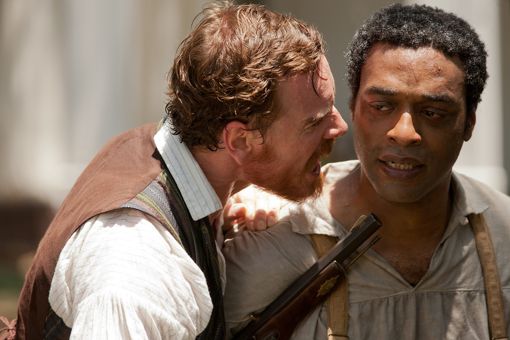 ". 2014 Academy Award Nominee for Best Adapted Screenplay: ""12 Years a Slave.\"" (Provided by Fox Searchlight)"