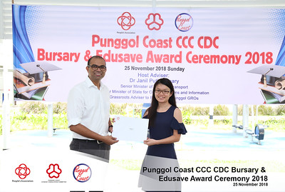 Punggol Coast CCC CDC Bursary & Edusave Awards