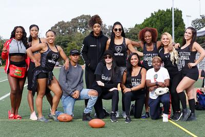Legends Football League - Los Angeles Temptation 2019 Season Open Tryouts (12/9/2018)