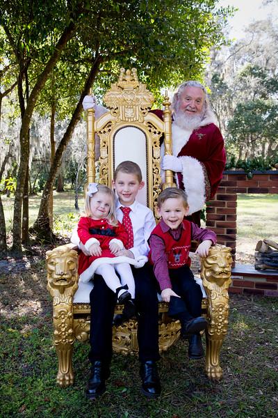 Santa Minis 2018: Jenna and Jackson!