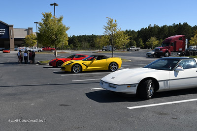 2019-10-12 Corvette Cruise to the Salty Dog Cafe