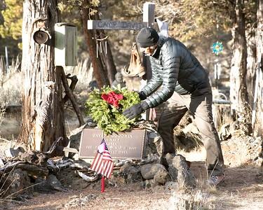 Wreaths Across America @ Polk Meadow Cemetery 12-17-2017