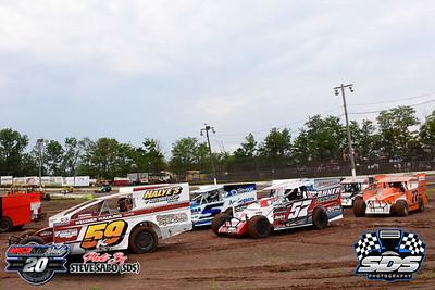 Grandview Speedway Practice - 6/6/20 - Steve Sabo (SDS)