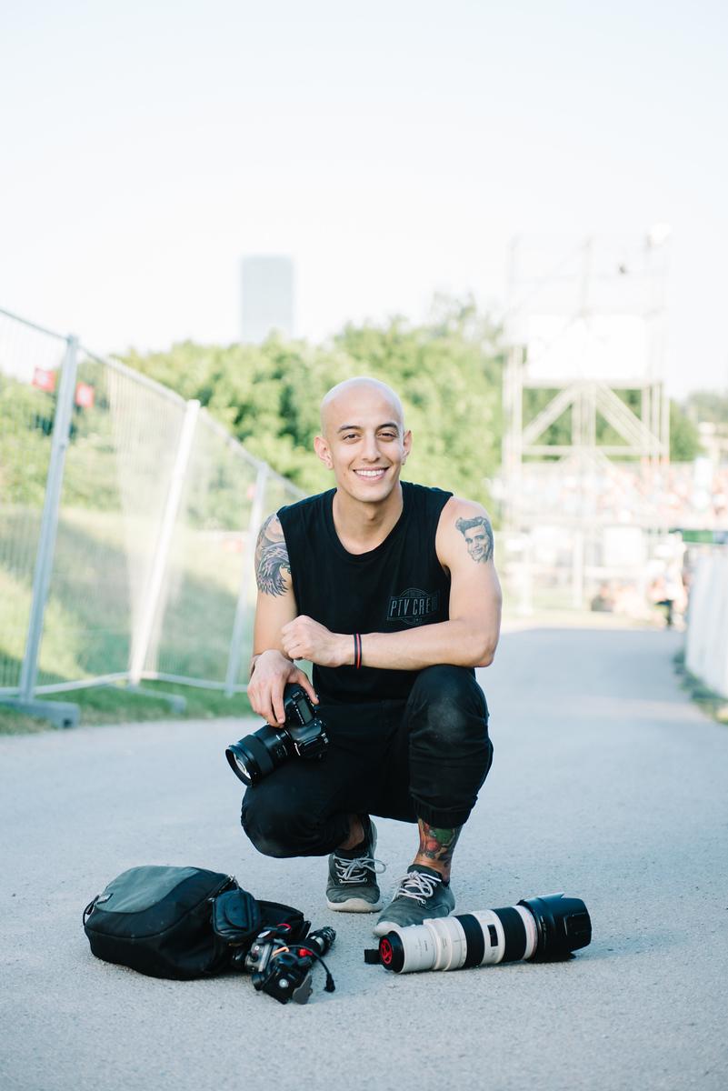 Adam Elmakias Gear, Photo by Matthias Hombauer