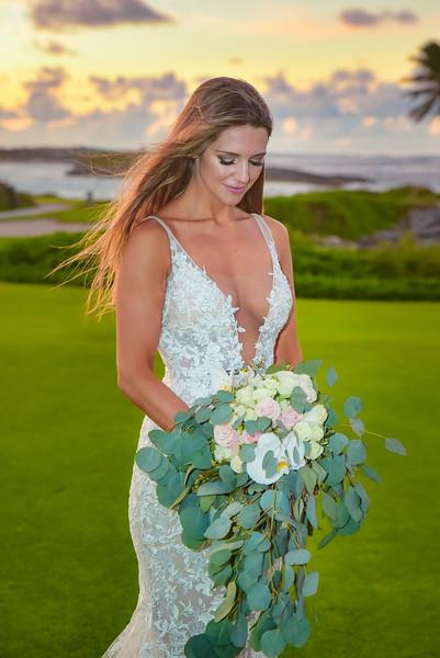 Sunset Wedding at Grand Isle Resort in Exuma Bahamas photo by Reno Curling #renocurling