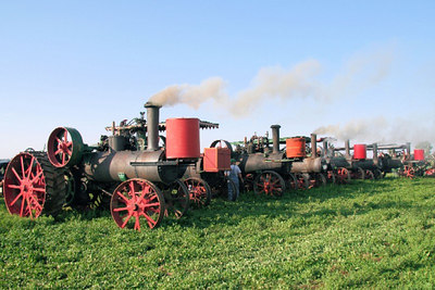 Steam Traction - Heritage Park of North Iowa 2006