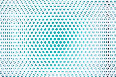 Metal Circle Grid