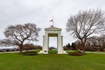 Peace Arch, WA/BC