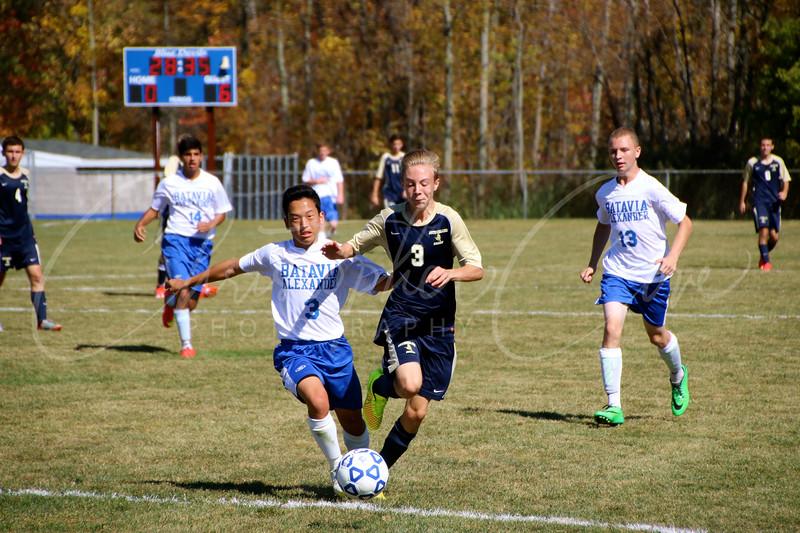 Pittsford Sutherland Varsity Soccer 9-27-14 vs Batavia