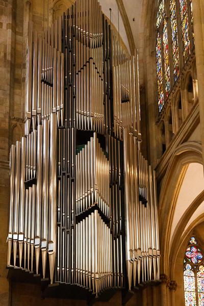 Pipe Organ - St. Peter's Cathdral, Regensburg, Germany