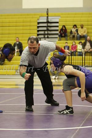 TCHS Wrestling vs Boswell 1-10-12
