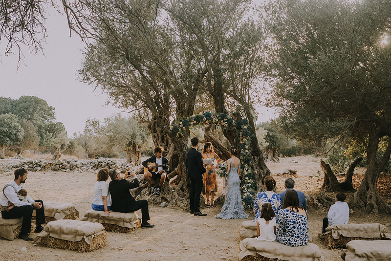 C + N / Intimate Elopement in Naxos, Greece