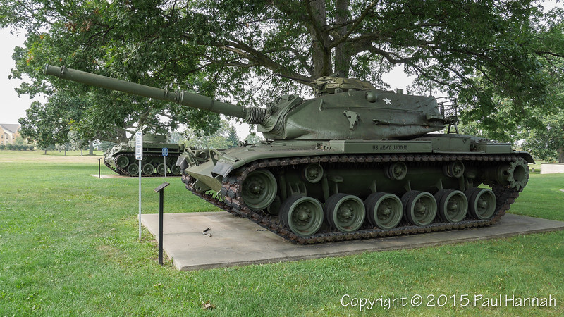 Military Honor Park - South Bend, IN - M60A3, M42 & Friends