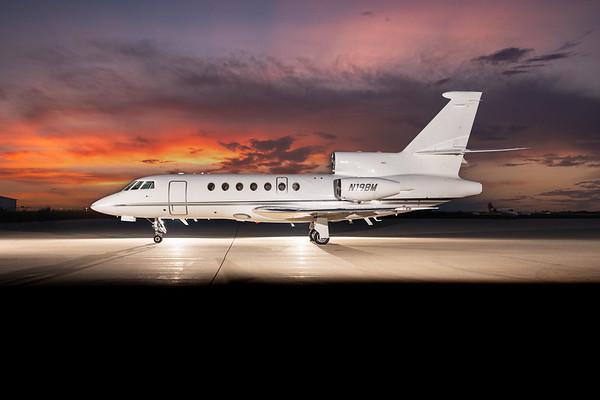 Falcon 50EX N198M (High Res No Logo)