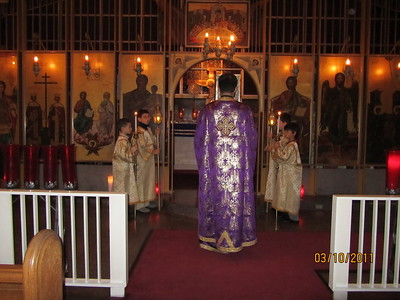 Community Life - Presanctified Liturgy - March 10, 2011