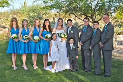 Crossland Wedding Party