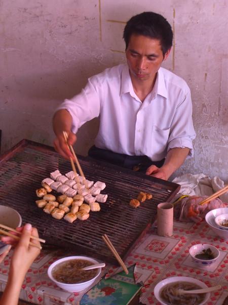Yuanyang Tofu Grill - Yunnan, China