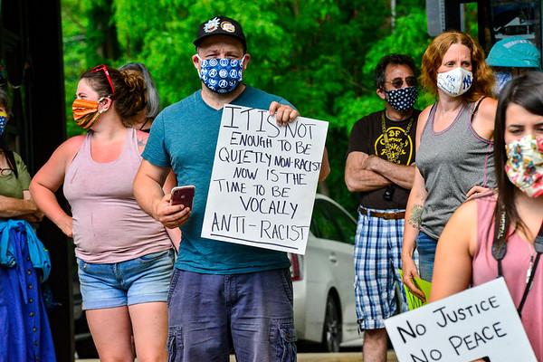 Black Lives Matter march in Bellows Falls - 060620