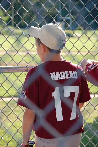 Logan's Baseball Game FHR 2008
