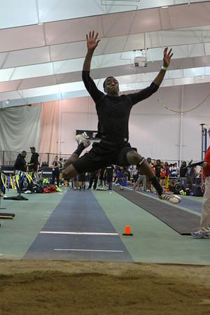 Long Jump - 2013 MITS Meet, January 31 at UM