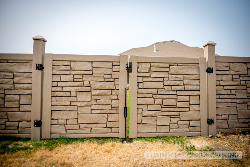 4014 - Allegheny Simulated Rock Fencing
