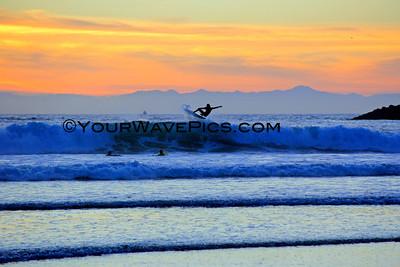 'Ventura County' Sunset 1/1/14