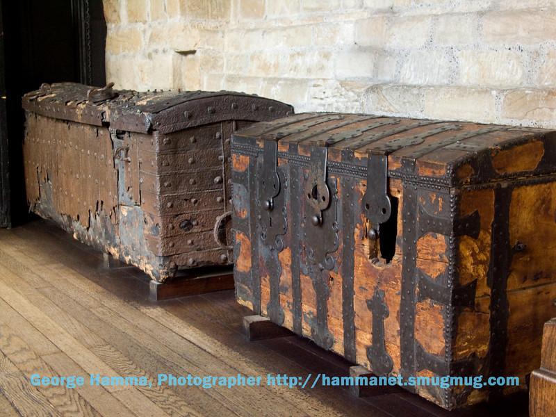 Durham Castle - Treasure Chests