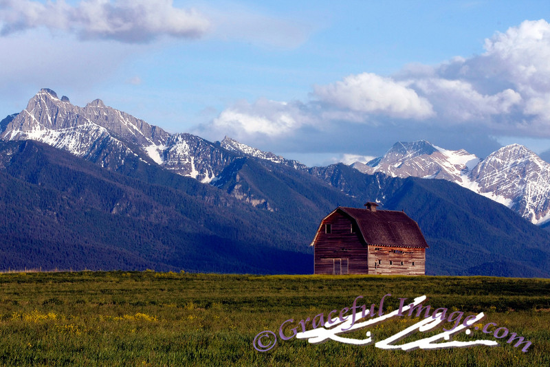 Barn in Mission Range, MT